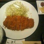 むら八 フェザン店 - ロースカツ(1130円)