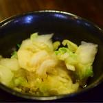 田吾作 - 白菜の浅漬け
