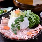 大名 つつじ庵 - 特製の出汁が糸島豚の魅力を引き出す『糸島豚の出汁しゃぶ鍋』