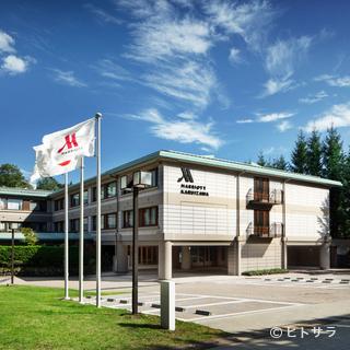 「軽井沢マリオットホテル」内のダイニング