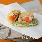 天富良 みやした - 旬の美味しさが余すことなく凝縮された『香箱ガニの天ぷら(季節限定)』