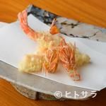 天富良 みやした - 海老に始まり海老に終わる、不動の人気を誇る『マキ海老の天ぷら』