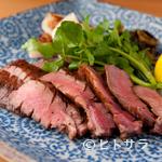 神楽坂 料理 やま本 - お肉本来の旨みを活かした『牛タンの網焼き』