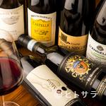 スペランツァ - 料理との相性抜群。イタリア産のワインが充実のラインナップ