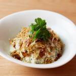 和心漢菜のピータン豆腐