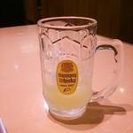 漫遊亭 - ドリンク写真:肉来る前に飲んじゃった。