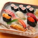 太閤寿司 - 料理写真:厳選した新鮮な魚介を使用した『おまかせ寿司』