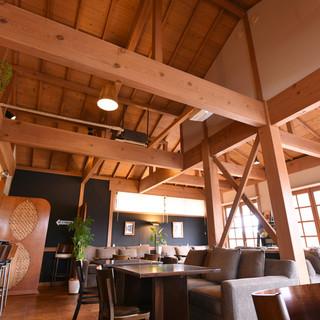 自然豊かで長閑な場所に佇む一軒家レストラン