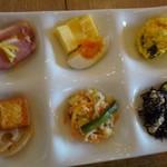 kawara CAFE&DINING -FORWARD- - ◆おばんさい6種。