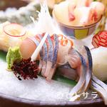 きろく - 料理長厳選の魚を使用『お造り5種盛り』