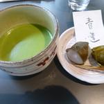 茶廊・葉風泰夢 - お抹茶セット 青蓮