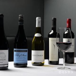 お料理に合うワインは専門家のお墨付き