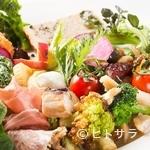 トラットリア はしまや - 1つ1つの食材を丁寧に調理する『前菜の盛り合わせ』
