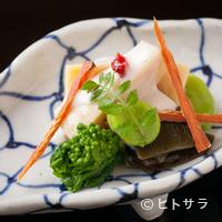 なかむら - 『筍春寒煮と白子の塩梅ソース』