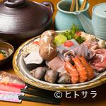 観世 - 選りすぐりの食材が使われた、目にも鮮やかな料理が並ぶ