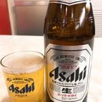 三友軒 - 瓶ビール中(500)