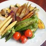 バール ボガ - 野菜の素焼き