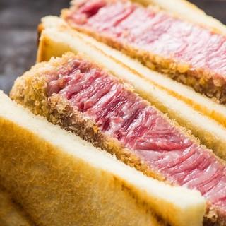 【至高】お肉の神様に捧げるシャトーブリアンカツサンド【名物】