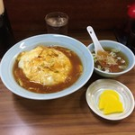 前川 - 天津丼690円