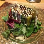 ビストロ グラン ソレーユ - お食事前の一皿:【穴子と蟹と野菜のテリーヌ】