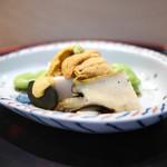 佐藤 - 鮑と雲丹と空豆