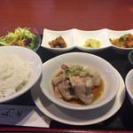 66199720 - ランチセット(これに麻婆豆腐が加わります。)