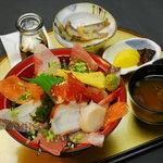 海鮮本陣 魚祭 - 贅沢!!海鮮丼