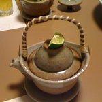 高玉 本店 - 松茸の土瓶蒸しの外観