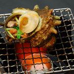 海鮮本陣 魚祭 - さざえ壷焼き