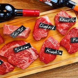 『黒毛和牛まるごと一頭買い』がお値打ちな肉バルの答えです。
