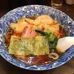 66201795 - 「名物肉厚ワンタン麺」600円