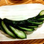 串焼き本舗 - 胡瓜の漬物
