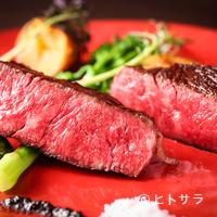 又三郎 - これぞ【又三郎】を代表する逸品『熟成肉の厚切りステーキ』