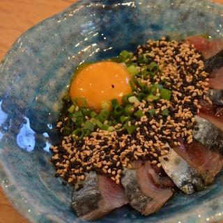 【いまがわ食堂の名物】ごま鯖丼ぶり1000円♪