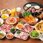 屋上BBQビアガーデン キンビア - 食べ放題メニューはBBQ・アラカルトなど全36品