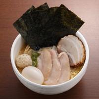 らーめん銀杏 - 鶏SOBA醤油全部のせ 1050円