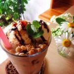 コミチカフェ - ドリンク写真:ICEキャラメルパフェモカ¥700