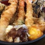 天麩羅 杉 - 黄身の天ぷらも入ってます