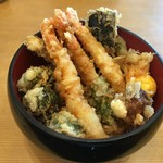 天麩羅 杉 - 大海老天丼1650円