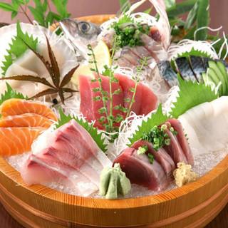 和歌山の港で漁れた新鮮な魚介!旬の味覚たっぷり!◎