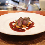 SETTE COLLI - アンガス牛ランプ肉のロースト 赤ワインソース☆