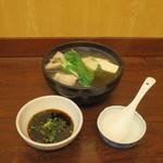 かとう - 銀だら豆腐