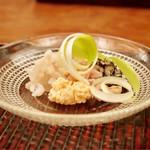 緒方 - 虎魚、うるい