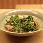 緒方 - 花山椒としゃぶしゃぶ肉