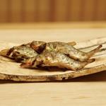 緒方 - 小鮎の炭火焼