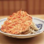 緒方 - 桜海老のかき揚げ蕎麦