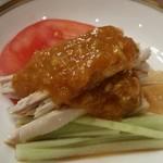 66216851 - 前菜 棒々鶏。