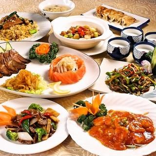 【100種中華料理食べ放題+飲み放題】サラリーマン応援プラン