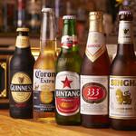 ワイズキッチン - 各東南アジアのビール