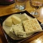 ペルル - チーズ盛り